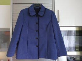 Atelier Creation Klassischer Blazer blue polyester