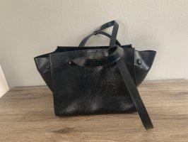 Blaue Handtasche von Zara