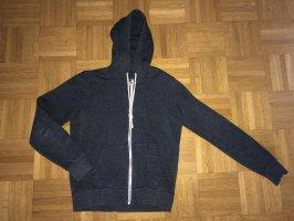 H&M Chaqueta con capucha azul oscuro
