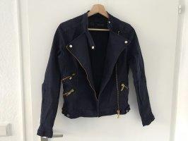 Blaue Jacke Zara