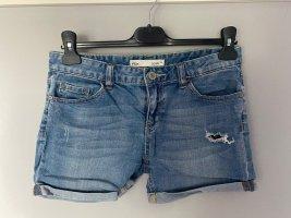 Blaue Jeans Shorts / kurze Hose von Fox Denim, Gr. 36