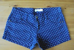 Blaue Jeans Shorts mit Sternenmuster, Gr. 40