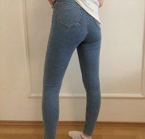 Blaue Jeanshose von Topshop