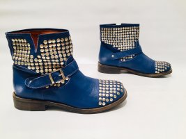 Lemaré Ankle Boots silver-colored-steel blue