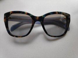 Blaue Prada Sonnenbrille