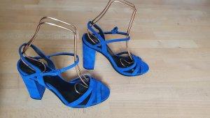 Blaue Pumps von Zara Gr. 41