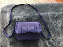 Blaue Schleifen Tasche