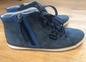 Blaue Schnürschuhe von Esprit