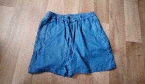 armedangels High-Waist-Shorts blue-neon blue