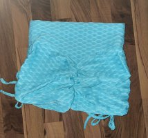 Szorty sportowe turkusowy-baby blue