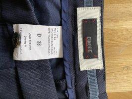 René Lezard Spodnie garniturowe niebieski