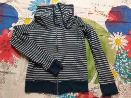blaue Sweatshirtjacke von H&M