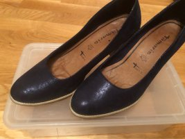 Blaue Tamaris Pumps Gr 39