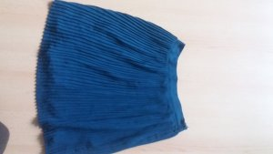 Vila Pleated Skirt blue