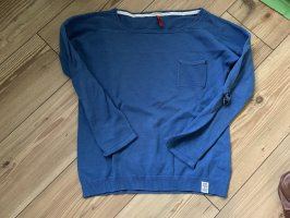 s.Oliver Long Sweater cornflower blue