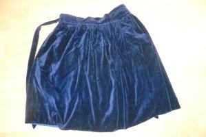 Falda globo azul Poliéster