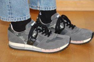 Blauer USA Sneaker stringata grigio-grigio scuro Pelle