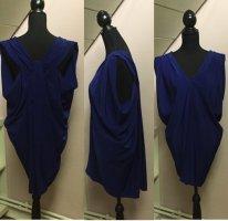 Blaues kurzes Abendkleid von Mango