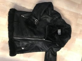 Blaze Flight Jacket black leather