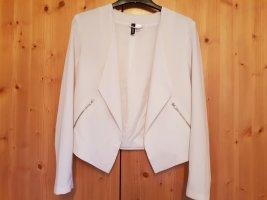 HM Jersey blazer wit