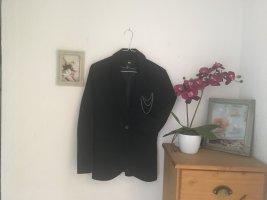 H&M Jersey Blazer negro