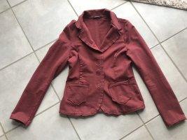 Blazer aus Sweatshirtstoff in S