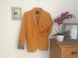 Tally Weijl Jersey Blazer naranja dorado