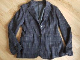 Henry Cotton's Short Blazer dark blue-brown