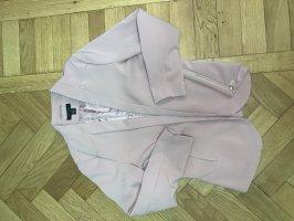 Amisu Jersey blazer stoffig roze