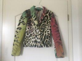 Blazer in bunten Animalprint von Just Cavalli