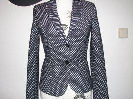 More & More Short Blazer dark blue-white