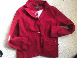 s.Oliver Blazer de lana rojo