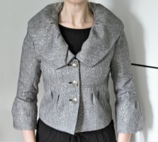 Blazer Jäckchen Grau Silber The Kooples Business