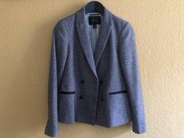 Maison Scotch Tweed Blazer multicolored wool