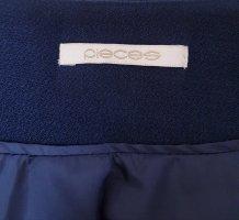 Pieces Blazer corto azul