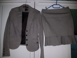 esprit collection Costume business gris anthracite