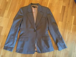 Anne Klein Wool Blazer silver-colored