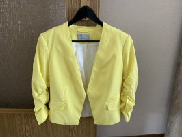 H&M Jersey blazer geel