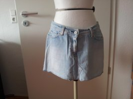Bleached jeans Mini Rock im Used Look