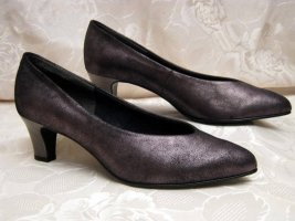 Bleil Classic Court Shoe black leather