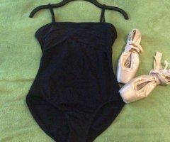 Bloch Costume da bagno nero