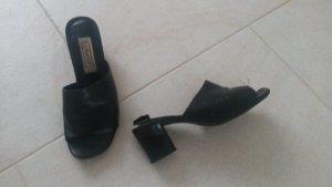 BLOGGER !! coole elegante lässige Sandalen Schuhe Absatz Pantoletten Halbschuhe Hausschuhe Pumps Sandaletten - Gr. 36