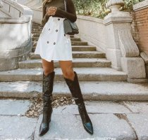 Blogger COWBOY HIGH RISE BOOTS