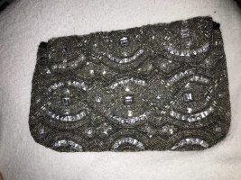 Blogger silver sequin bag