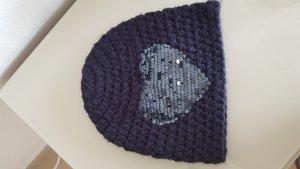 Blonde No. 8 Knitted Hat dark blue