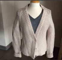Bloom Coarse Knitted Jacket oatmeal