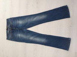 Blue Jeans gerader Schnitt