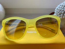 Bluemarine Lunettes de soleil ovales jaune primevère
