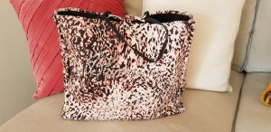 Blugirl Blumarine Sac en toile noir-rosé