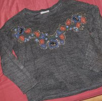 Blumen Pullover Zara